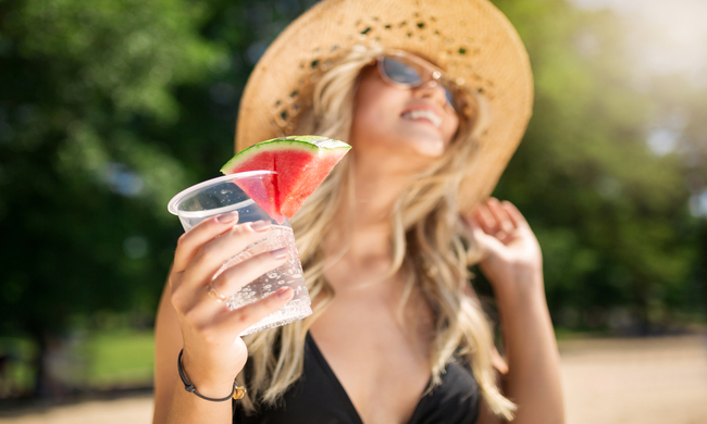 3 ways to smuggle booze during the heatwave