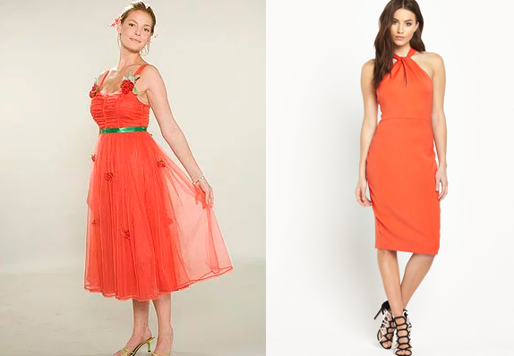 number-20-orange-dress